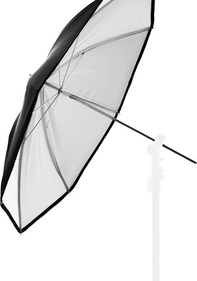 PVC UMBRELLA 94,5 CM WHITE