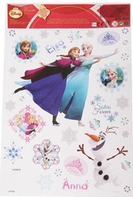 Disney Frozen vensterstickers 20x30 cm