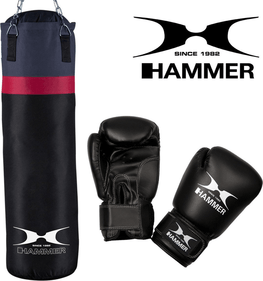 Hammer Box-Set Home-Set Cobra, schwarz, 28x100 cm
