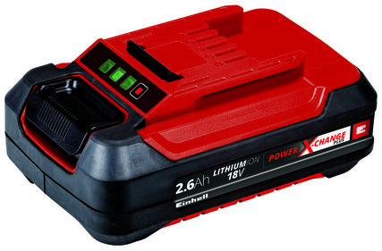 Einhell Power-X-Change 18 V / 2600 mAh Plus / Lithium-Ionen-Akku