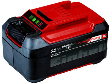 Einhell Power-X-Change 18 V / 5200 mAh Plus / Lithium-Ionen-Akku