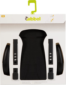 Qibbel Styling Set Luxury Rear Seat Uni Black
