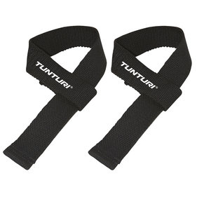 Tunturi Powerlifting Straps - Deadlift straps - Per Pair