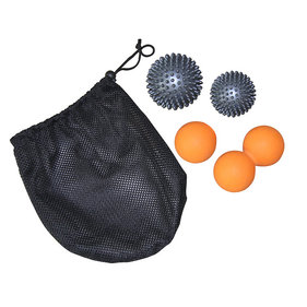 Tunturi Massage Ball Set - 4 ballen
