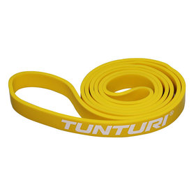 Tunturi Power Band - Weerstandsband - Fitness Elastiek - Licht - Geel