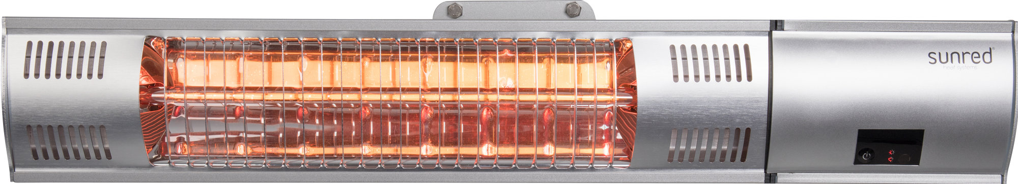 Sunred Royal Diamond Silver wandheater
