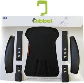 Qibbel Styling Set Luxury Front Seat Uni Black