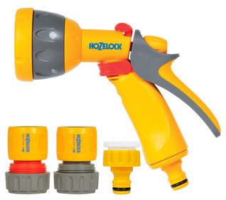 Hozelock Multi-Spraygun Starter Set Ø 15 & 19 mm