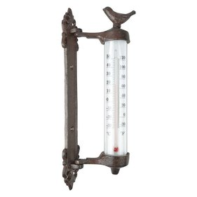Esschert Design Wandthermometer vogel in giftbox
