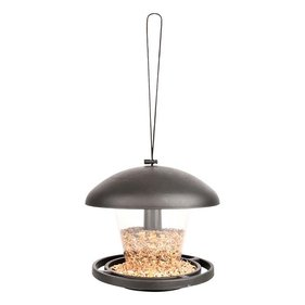 Esschert Design plastic bird feeder silo