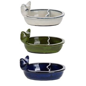 Esschert Design ceramic feeding / drinking bowl