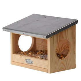 Esschert Design Squirrel feeding house