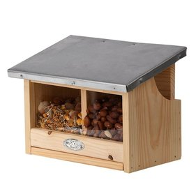 Esschert Design Squirrel double feeder house