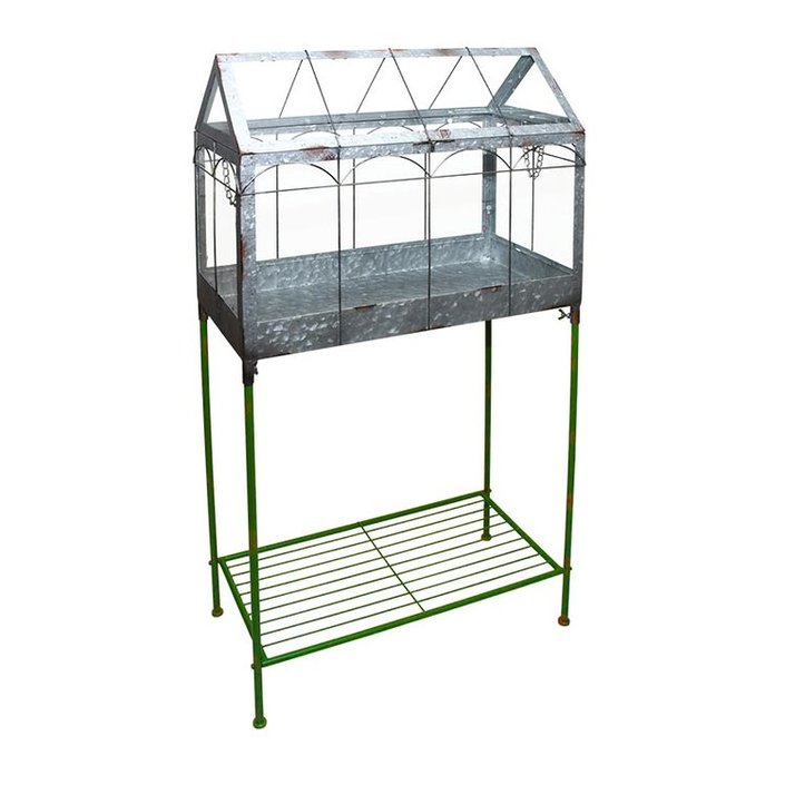 Esschert Design greenhouse on standard L