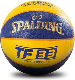 Spalding TF33 Gold 3x3-Basketball