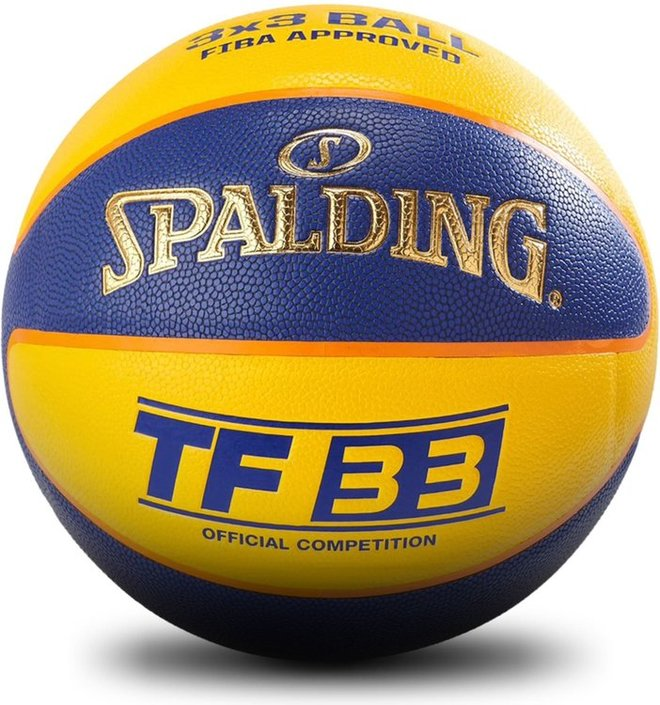 Spalding TF33 Gold 3x3 basketbal