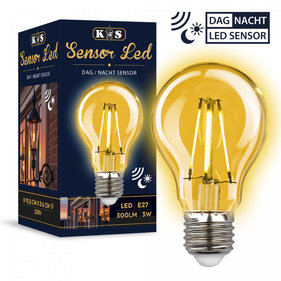 KS Sensor Led dag/nacht 3W