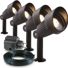 Garden Lights Focus spot - set van 4 st.