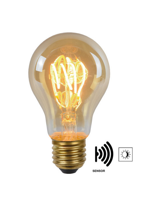 Lucide - LED BULB TWILIGHT SENSOR - Filament lamp - 49042/04