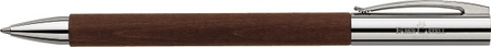Faber-Castell Ambition Pearwood Brown Twist Ballpoint Pen