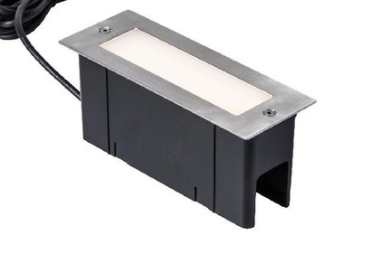 Heissner decking and wall lighting 4W warm white stainless steel