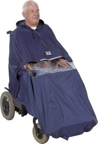 Benton Power Cape Rolstoelponcho