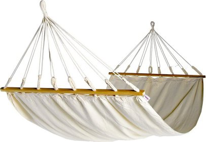 Naya Nayon La Manteñse Quiteña hammock with spreader bars