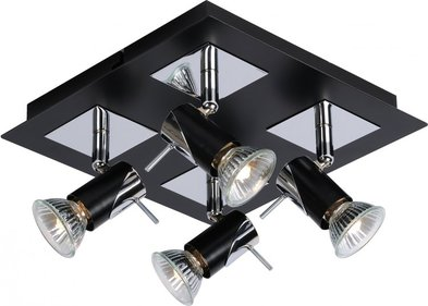 Lucide Brackx Ceiling Light Quattro