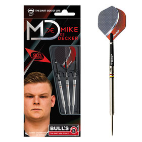 Bull's Mike de Decker 22 gram dartpijlen