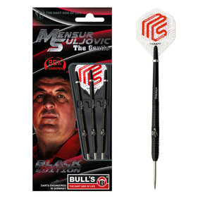 Bulls Mensur Suljovic Black-Edition 25-Gramm-Darts