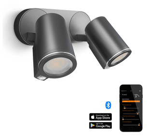 Steinel Buitenspot  DUO sensor bluetooth