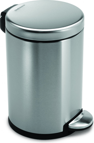 SimpleHuman Mini Round Step Can 4,5 Liter