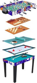 Multi Game Table 10 in 1