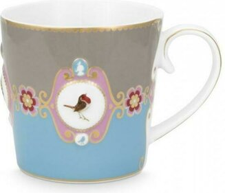 Pip Studio Love Birds Medallion 250 ml mok