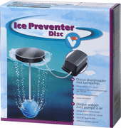 Antifreeze protection for a pond