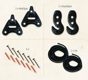 La Siesta Universal hammock fixing set