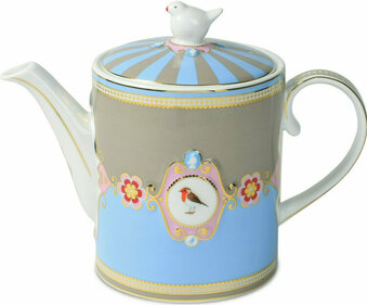 Pip Studio Love Birds Medallion 1.3 liter theepot