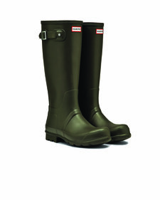 Hunter Men's Original Tall dark olive laars