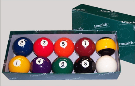 Aramith Nineball 57.2 mm poolbollar
