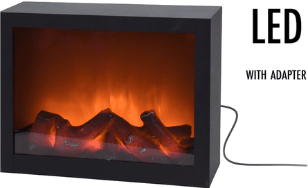 Valetti LED 29x23cm decorative fireplace