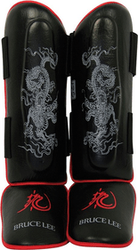 Bruce Lee Dragon Deluxe leg protector