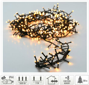 Valetti Microcluster 1800LED Extra Christmas tree lighting