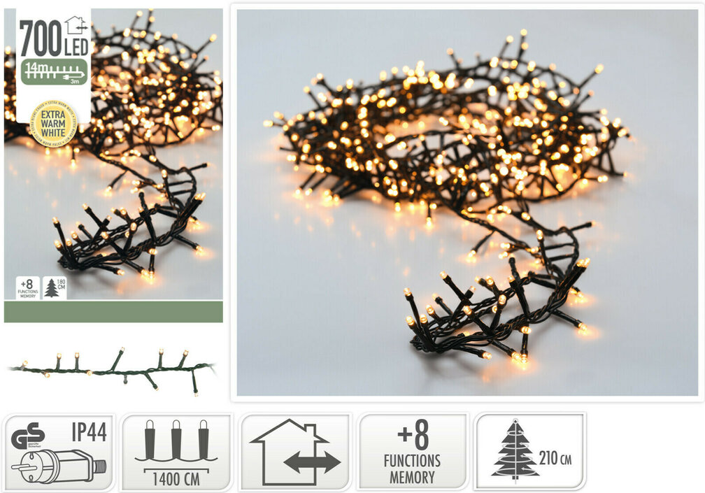 Valetti Microcluster 700LED Extra kerstboomverlichting