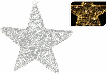 Valetti Star Acrylic 30 cm decorative lighting