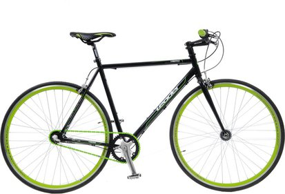 Leader Fixed Gear Lime Green recht stuur