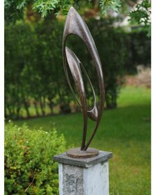 Bronzartes sculptuur endless tuinbeeld