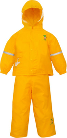 Willex Children's Rain Suit Frog and Friends