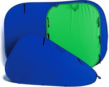 Lastolite Collapsible Reversible Chromakey Blue/Green