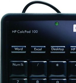 HP calculator CalcPad 100