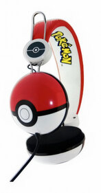 OTL Pokemon PokeBall - kinderkoptelefoon